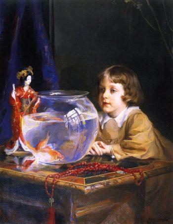John the Artists Fifth Son | Philip Alexius de Laszlo | oil painting