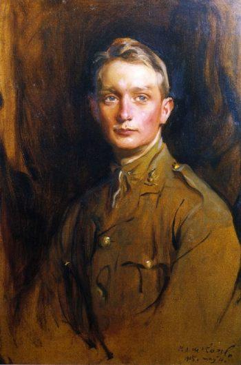 Lieutenant Desmond Trouton | Philip Alexius de Laszlo | oil painting