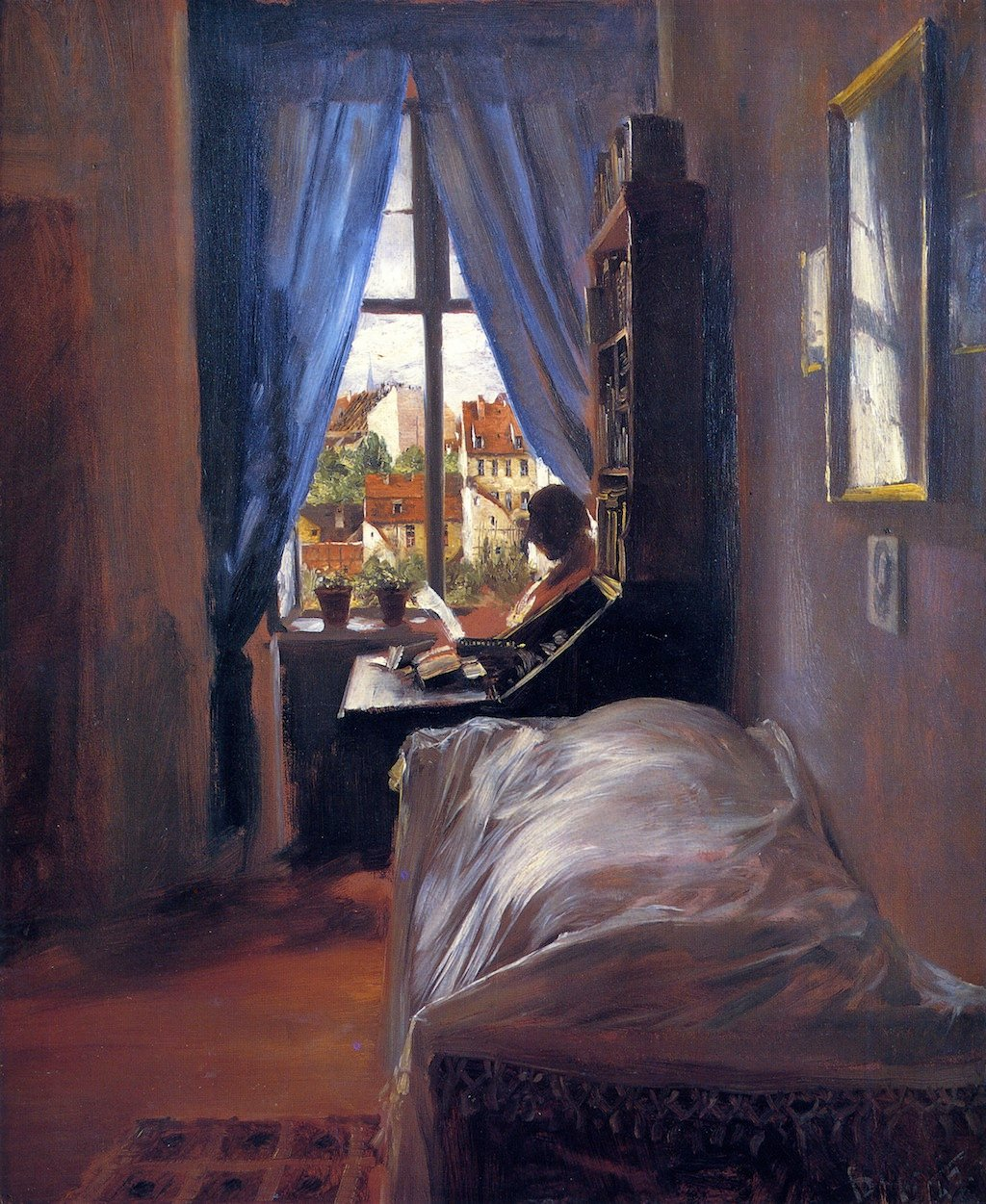 The Artist\'s Bedroom in Ritterstrasse