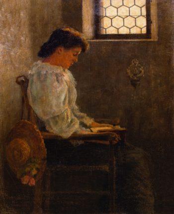 A Quiet Moment | George Van Millett | oil painting