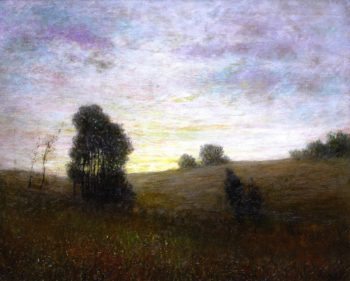 A Sunset | George Van Millett | oil painting