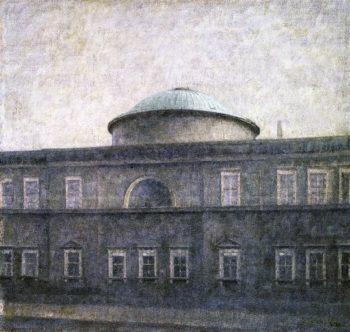 Christiansborg Palace Chapen Copehagen | Vilhelm Hammershoi | oil painting