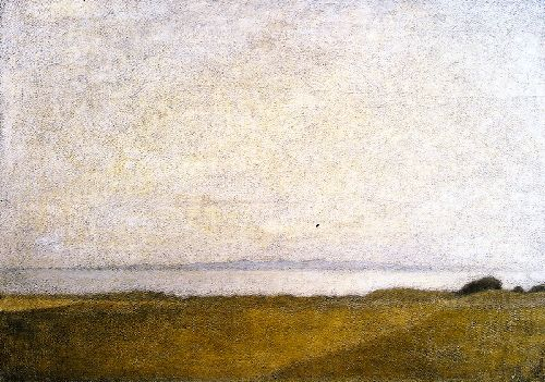 From Nakkehoved Strand | Vilhelm Hammershoi | oil painting