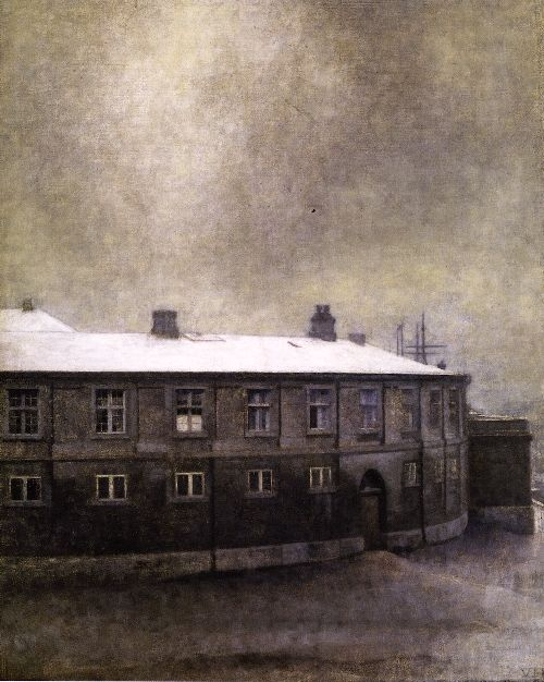 From the Old Christiansborg Palace | Vilhelm Hammershoi | oil painting