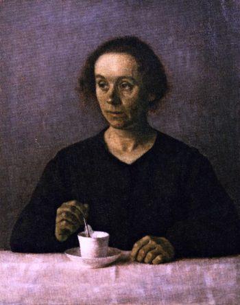 Ida Hammershoi | Vilhelm Hammershoi | oil painting
