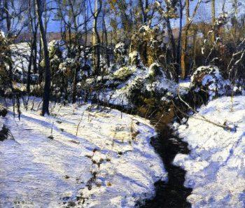 Winter Brook | Walter Emerson Baum | oil painting