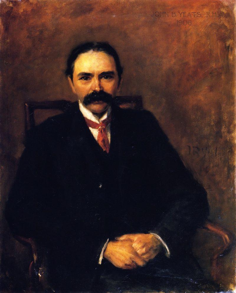 Douglas Hyde   John Butler Yeats   oil painting