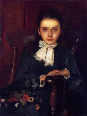 Frances Elizabeth Geoghegan as a Child | John Butler Yeats | oil painting