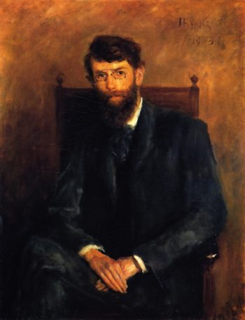 George William Russell A E | John Butler Yeats | oil painting