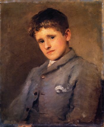 Jack B Yeats as a Boy 1 | John Butler Yeats | oil painting