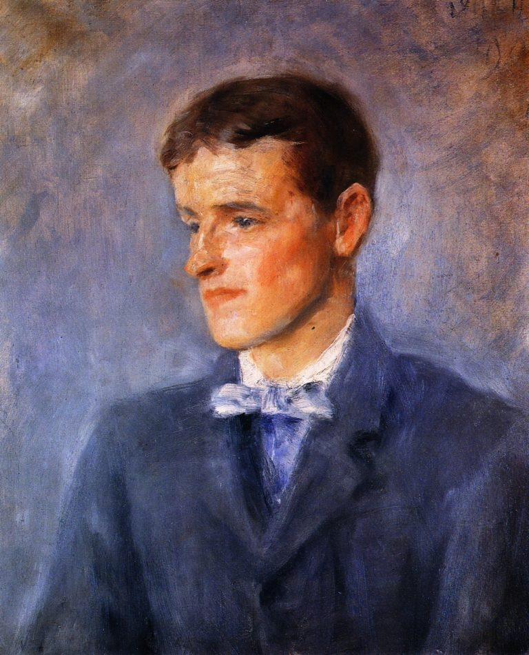 Jack B Yeats as a Boy | John Butler Yeats | oil painting