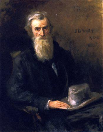 John O'Leary | John Butler Yeats | oil painting