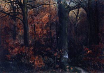 Landscape | John Butler Yeats | oil painting