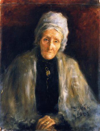 Mrs Lenny | John Butler Yeats | oil painting