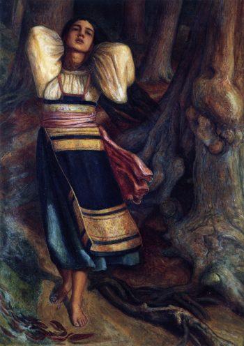 Pippa Passes | John Butler Yeats | oil painting