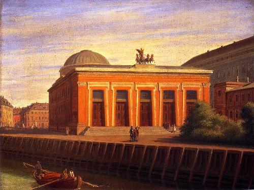 Thorvaldsens Museum | Constantin Hansen | oil painting