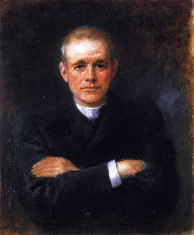 Reverend Patrick S Dineen   John Butler Yeats   oil painting