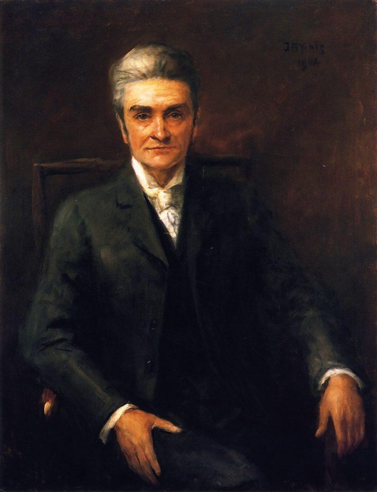 Standish James O'Grady | John Butler Yeats | oil painting