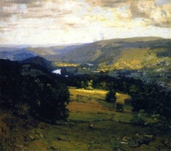 The Delaware Valley | William Langson Lathrop | oil painting