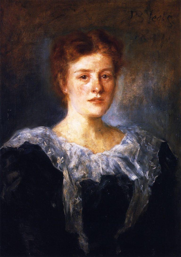 Susan L Mitchell | John Butler Yeats | oil painting