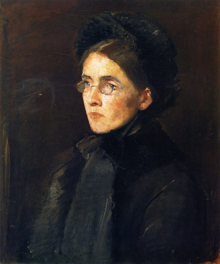 The Artist's Wife | John Butler Yeats | oil painting