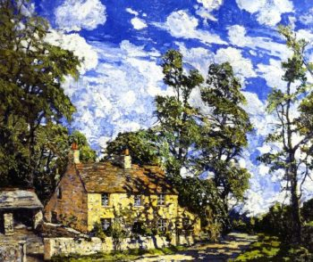 June Morning | Walter Elmer Schofield | oil painting