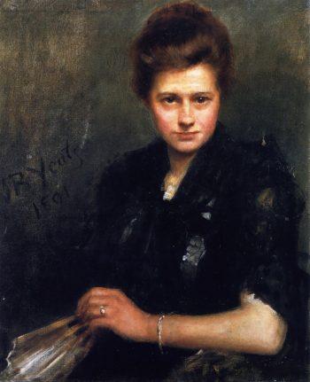 Violet Osborne | John Butler Yeats | oil painting