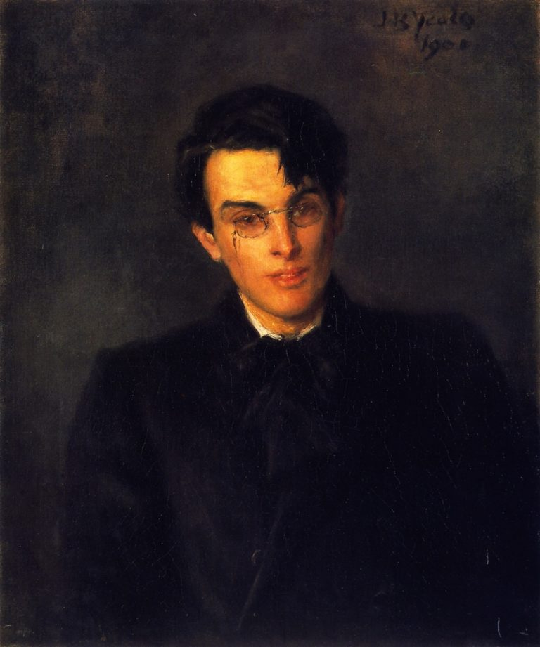 William Butler Yeats | John Butler Yeats | oil painting