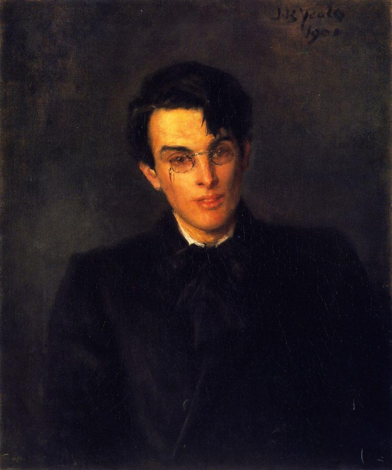 William Butler Yeats   John Butler Yeats   oil painting