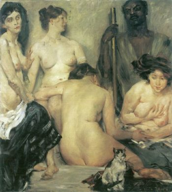 Der Harem | Lovis Corinth | oil painting