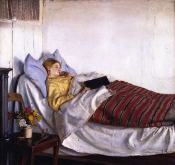The Sick Girl | Michael Peter Ancher | oil painting