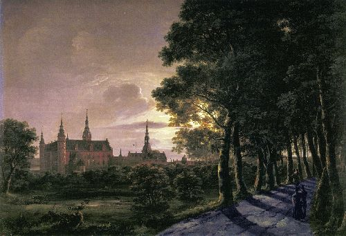 Fredericksborg Castle | Johan Christian Dahl | oil painting