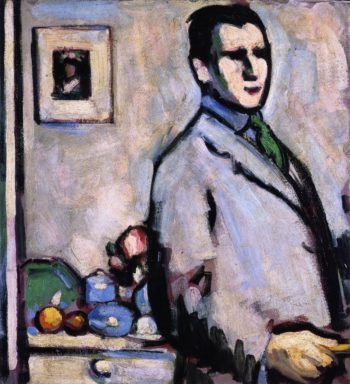 Self Portrait | John Duncan Fergusson | oil painting
