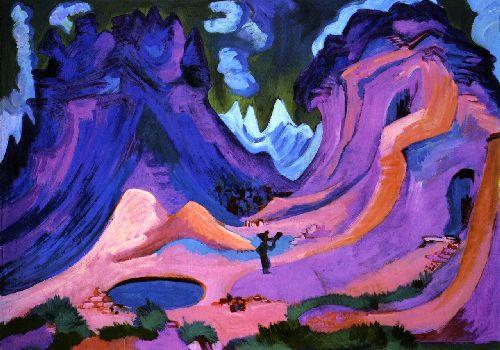 Die Amselfuh | Ernst Ludwig Kirchner | oil painting