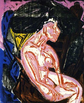 Die Geliebte | Ernst Ludwig Kirchner | oil painting