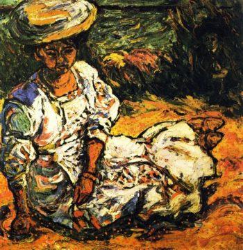Emmy Frisch   Ernst Ludwig Kirchner   oil painting