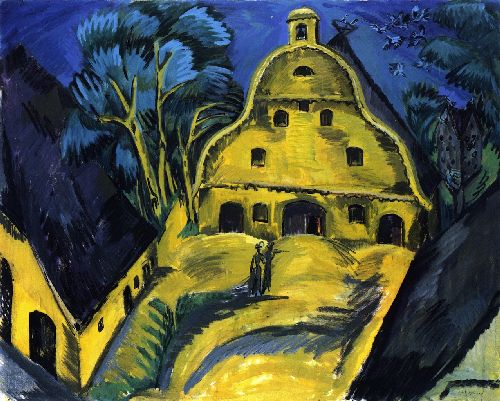 Gut Staberhof Fahmarn I | Ernst Ludwig Kirchner | oil painting