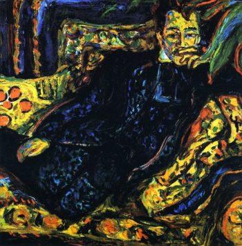 Herrenbildnis Hans Frisch | Ernst Ludwig Kirchner | oil painting