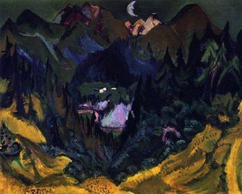 Junkerboden | Ernst Ludwig Kirchner | oil painting