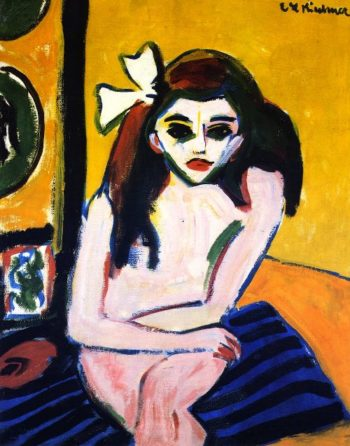 Marzella | Ernst Ludwig Kirchner | oil painting