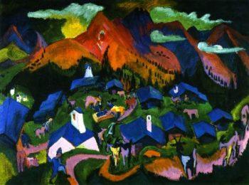 Ruckkehr der Tiere | Ernst Ludwig Kirchner | oil painting
