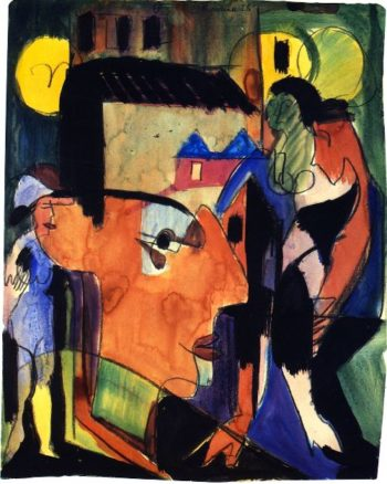 Self Portrait | Ernst Ludwig Kirchner | oil painting