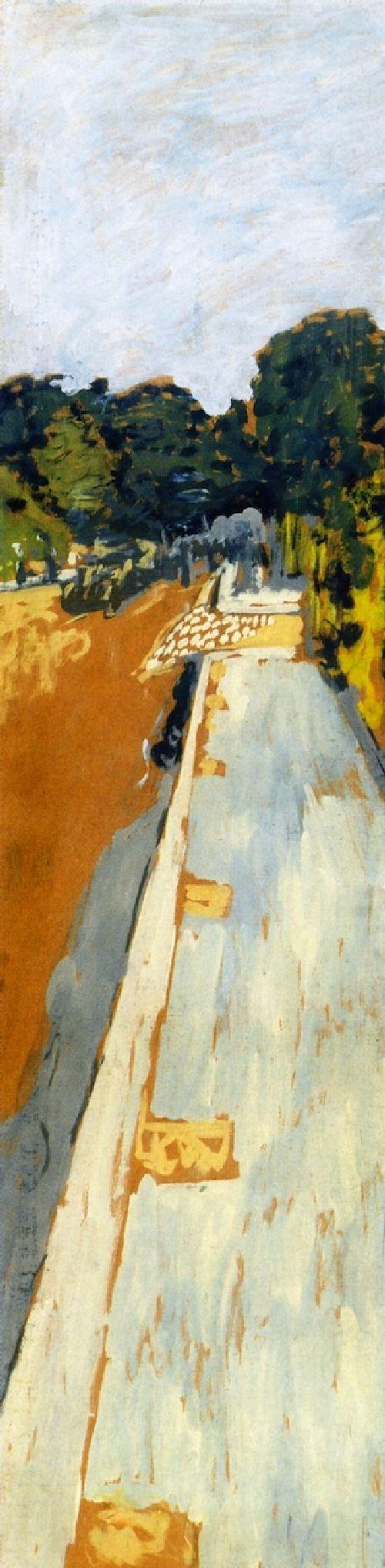Avenue Henri Marti   Edouard Vuillard   oil painting