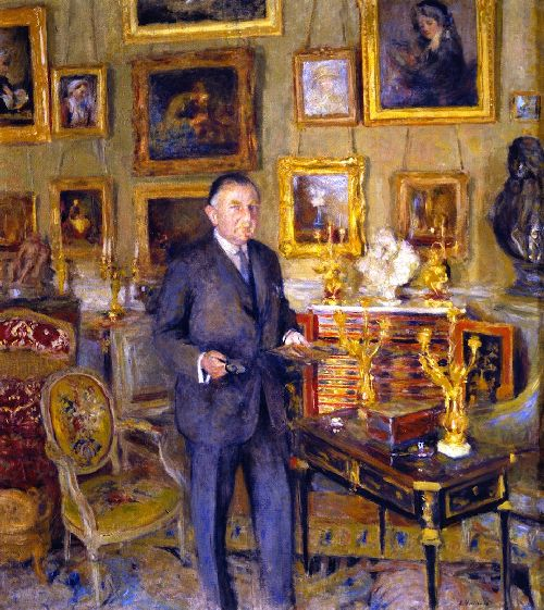 David David Weill | Edouard Vuillard | oil painting