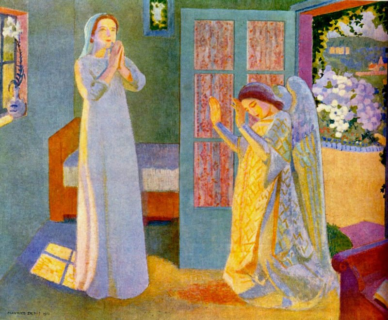 Annunciation | Maurice Denis | oil painting