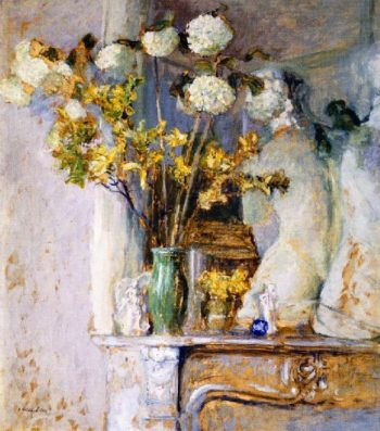 Guilder Roses and the Venus de Milo | Edouard Vuillard | oil painting