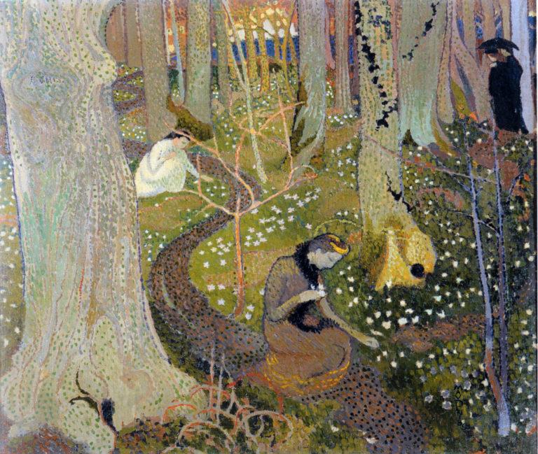 April | Maurice Denis | oil painting
