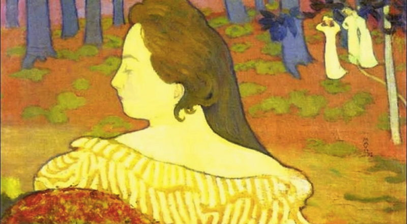 Beauty in the Autumn Wood | Maurice Denis | oil painting
