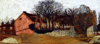 La Grangette at Valvins | Edouard Vuillard | oil painting