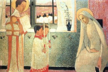 Catholic Mystery | Maurice Denis | oil painting